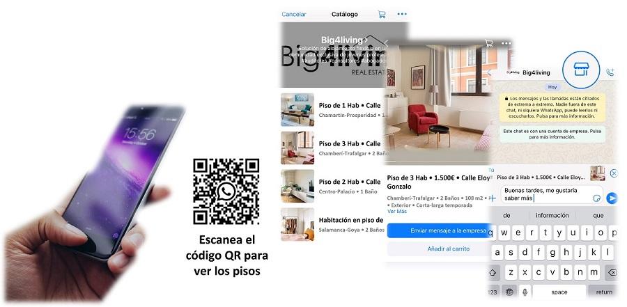 big4living-piso-habitación-catalogo-whatsapp-apartment-room