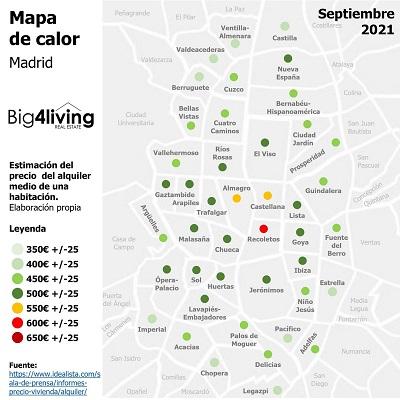 big4living-infografia-precios-alquiler-pisos-habitaciones-madrid-2021-09-septiembre